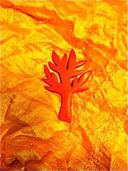 Story Tree Brooch