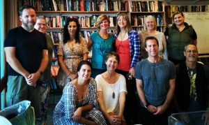 Storytelling for Changemakers Workshop at Byron Writers Festival Group Shot