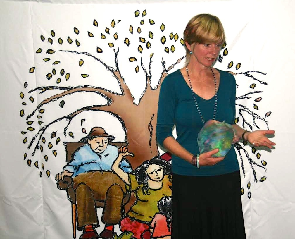 Backdrop masks in hand 2014 Trinity Lutheran Ashmore