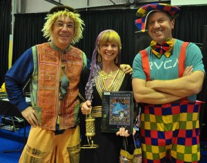 Belmont Book Parade Linsey, Jenni, Martin 27 Aug 2014