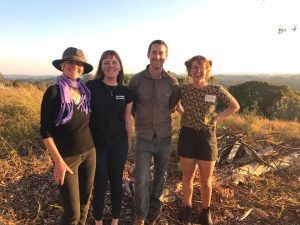 Jenni with Olly and Maddy Intrepid Landcare Aug 2017