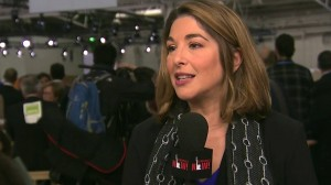 Photo Naomi Klein speaks at Paris Climate Summit 2015, Democracy Now