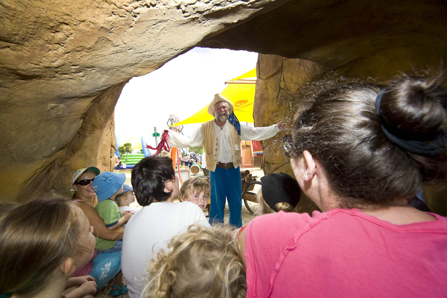 Salty Pete Opening Pirate Park Gold Coast