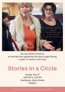 Stories in a Circle May poster
