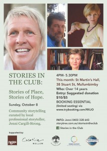 Stories in the Club-poster-October
