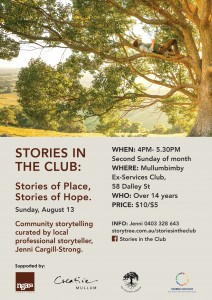 Stories in the Club Poster