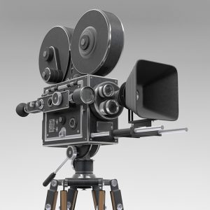 old movie-camera